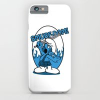 iPhone & iPod Case featuring Brave Smurf by TCarver