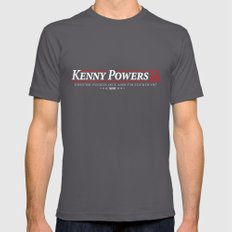 Kenny Power 2016 Mens Fitted Tee Asphalt SMALL