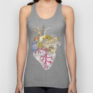 My Heart Is Real Unisex Tank Top