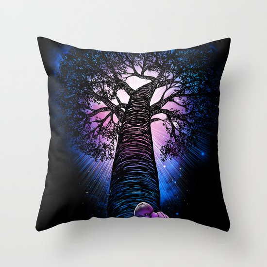 'Tree of Life' Throw Pillow