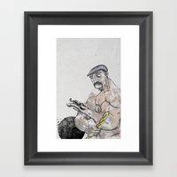 Knight Framed Art Print
