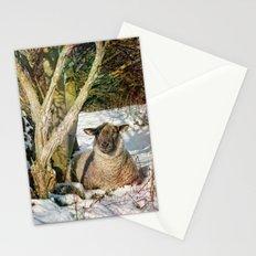 Enjoying the Winter Sun. Stationery Cards