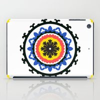 Bold and bright beauty of suzani patterns ver.9 iPad Case