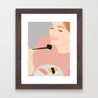 Sushi!!!!! Framed Art Print