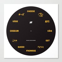 Cheese Movement Canvas Print