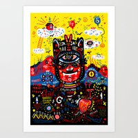 Bright Magic Day Art Print