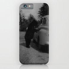 Mr. Bear goes to work iPhone 6 Slim Case
