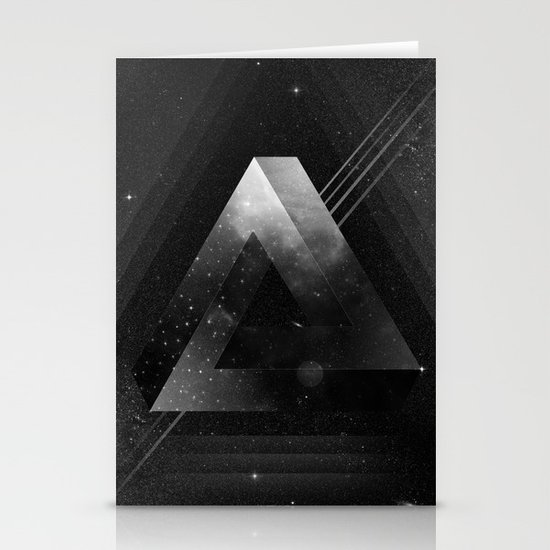 Triangle Stationery Card