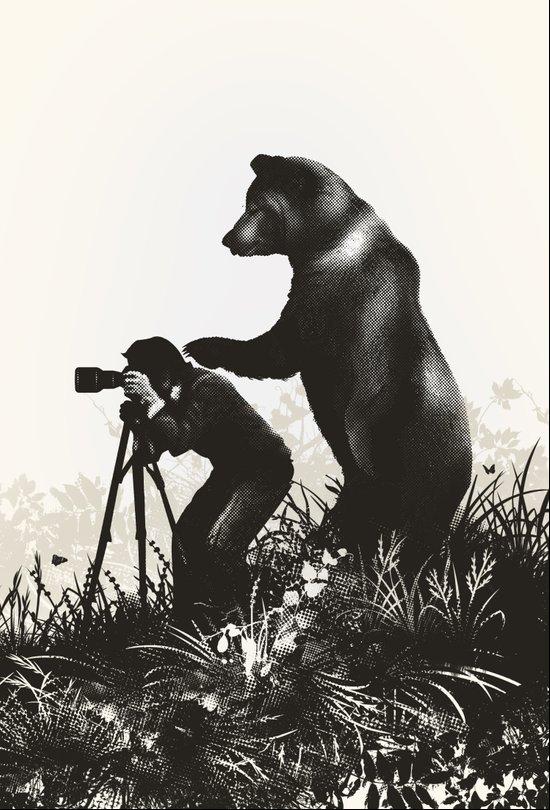 The Bear Encounter II Canvas Print