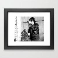 Jules - The Strokes Framed Art Print