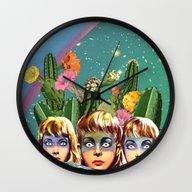 Future Islands Wall Clock