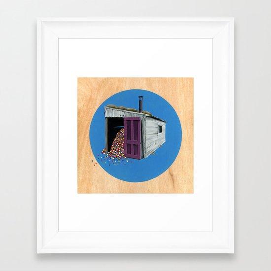 Sheds & Shacks | No:2 Framed Art Print