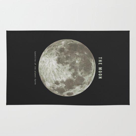 The Moon  Area & Throw Rug
