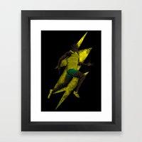 Fastest ever Framed Art Print
