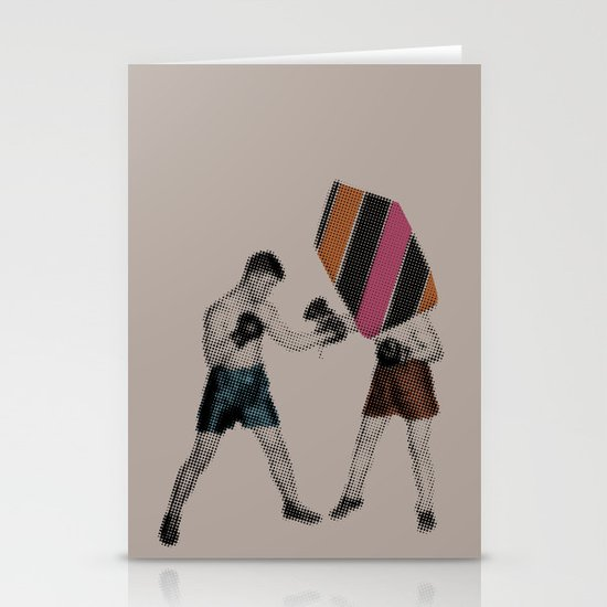 Mixed Martial Art Stationery Card