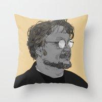 Guillermo del Toro Throw Pillow