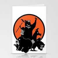 King of The Urban Jungle Stationery Cards