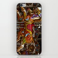 Colourful Carousel Horses iPhone & iPod Skin