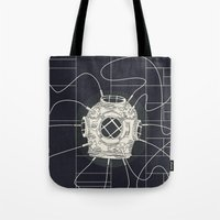 Dive Bomb / Recursive Tote Bag