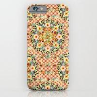 Bijoux Carousel Mandala Plaid iPhone 6 Slim Case