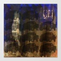 Death Of Detroit  Canvas Print