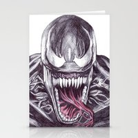 Venom Stationery Cards