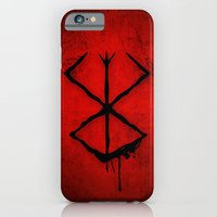 iPhone & iPod Case featuring The Berserk Addiction by DesignDinamique