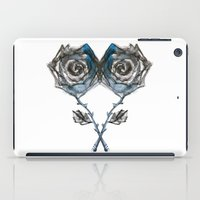 Royal Blue Rose iPad Case