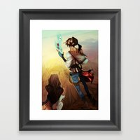 Ace of Hearts Framed Art Print