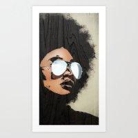 Venus Afro 02 Art Print