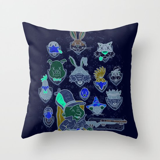 Wevenge! Throw Pillow
