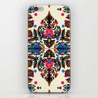 Bright Folk Art Pattern … iPhone & iPod Skin