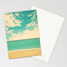 Retro Beach Stationery Cards