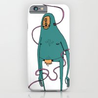 iPhone & iPod Case featuring Vector monster by Binnyboo