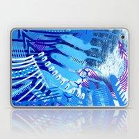 Wave blue Laptop & iPad Skin