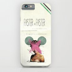 Faster & Faster | Collage iPhone 6 Slim Case