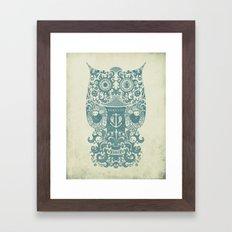 The Old Owl - Vintage edition Framed Art Print