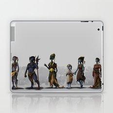 Alien Fantasy Race Laptop & iPad Skin