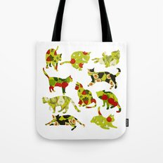 Kitchen Cats Tote Bag