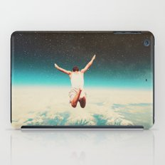 Falling with a hidden smile iPad Case