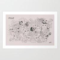 Folie Art Print