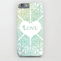 iPhone & iPod Case featuring LOVE by Sarah Churchill