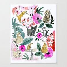 Say Meow! Canvas Print