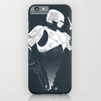 iPhone & iPod Case featuring Robocop by Alain Bossuyt