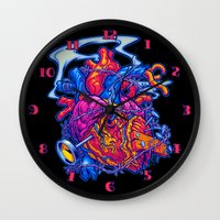 BUSTED HEART Wall Clock