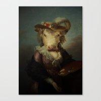 Cow #1 Canvas Print