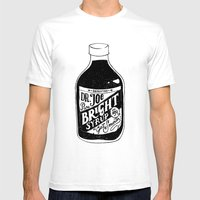 Don't Be Stupid Elixir Mens Fitted Tee White SMALL