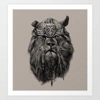 The Eye Of The Lion Vi/k… Art Print