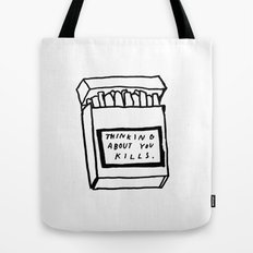 SMOKING ABOUT YOU Tote Bag