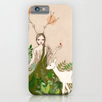 iPhone & iPod Case featuring Mori girl by Irena Sophia